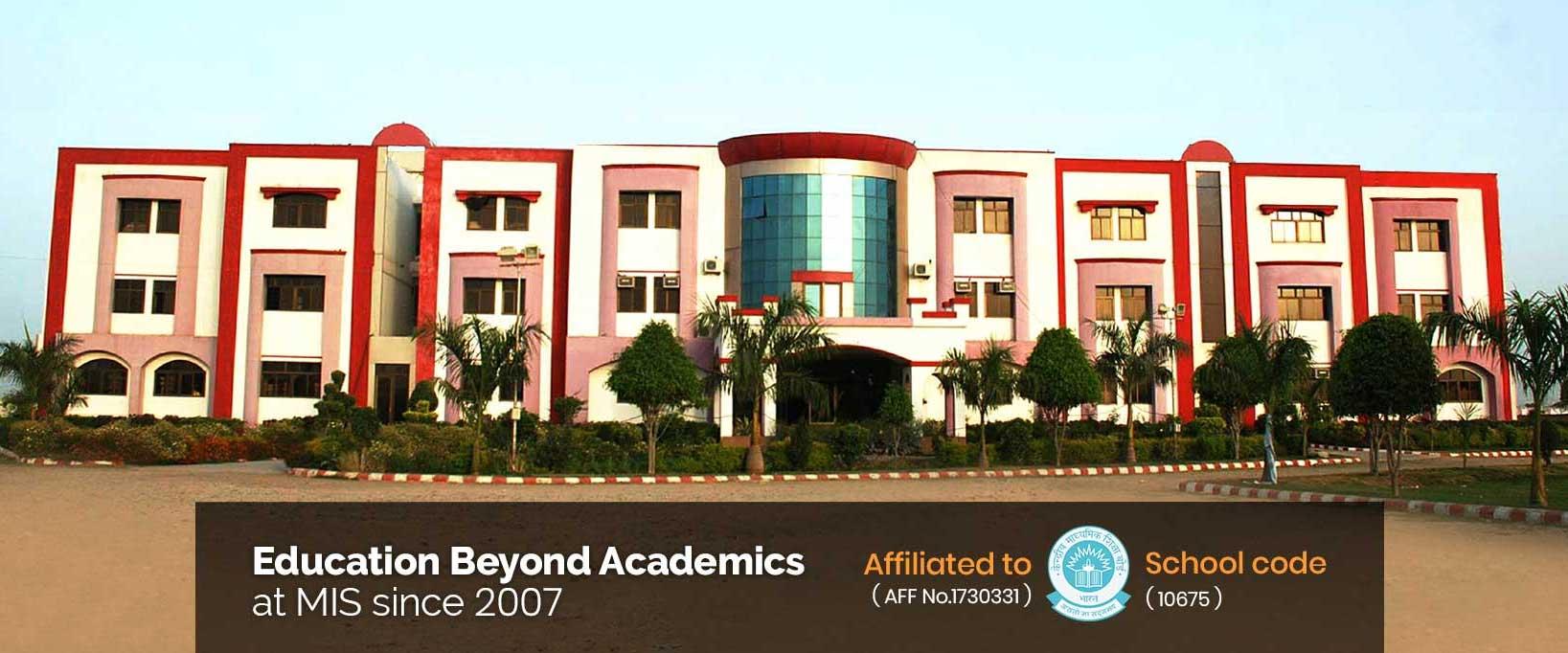Education Beyond Academics