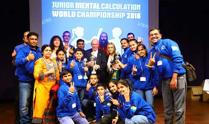 Trendz Abacus has organised International Competition in Germany 2019.