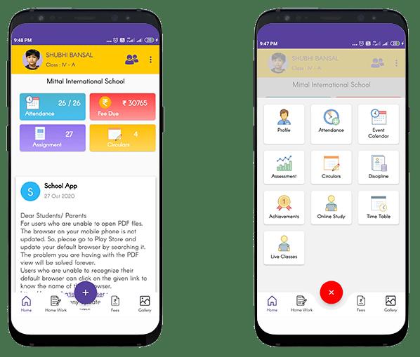 school-mobile app